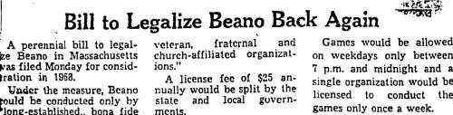 Bill to Legalize Beano Back Again2