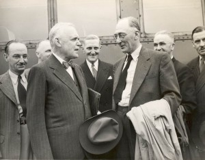 FrederickGordonBradleyLouieStLaurentJune1947OttawaDelegation