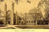 Cambridge Architecture, Part Two: Gore Hall and WidenerLibrary
