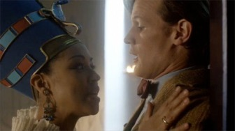 doctor_who_dinosaurs_on_a_spaceship_nefertiti_and_the_doctor