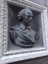 On the Shakespeare Bust at Beach Street