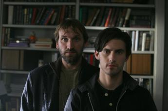 Christopher Eccleston as Claude and Milo Ventimiglia as Peter Petrelli Heroes (NBC) Season 1, 2006 Episode: The Fix USA - 28.08.2006 Where: California, United States When: 28 Aug 2006 Credit: WENN.com **WENN does not claim any ownership including but not limited to Copyright or License in the attached material. Fees charged by WENN are for WENN's services only, and do not, nor are they intended to, convey to the user any ownership of Copyright or License in the material. By publishing this material you expressly agree to indemnify and to hold WENN and its directors, shareholders and employees harmless from any loss, claims, damages, demands, expenses (including legal fees), or any causes of action or allegation against WENN arising out of or connected in any way with publication of the material.**